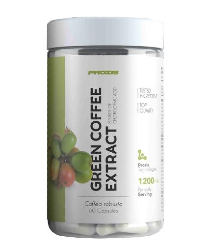 prozis Green Coffee Bean Extract 1200mg / 60 Caps