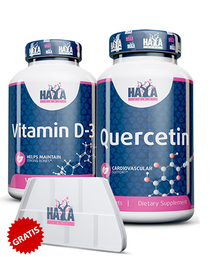 promo-stack Quercetina/Vitamina D-3 + Cadou
