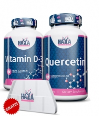 PROMO STACK Quercetina/Vitamina D-3 + Cadou