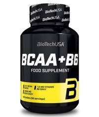 BIOTECH USA BCAA + B6 / 100 Tabs.