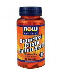 NOW Branched Chain Amino Acid /BCAA/ 60 Caps.
