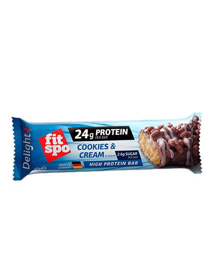 fit-spo Crunchy Delight plus Protein Bar / 65g