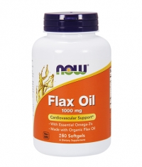 NOW Flax Oil 1000mg. / 250 Softgels