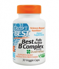 DOCTOR'S BEST Fully Active Vitamin B Complex / 30 Vcaps