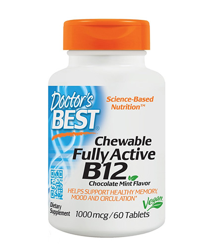 doctors-best Chewable Fully Active Vitamin B12 1000mcg / 60 Chews