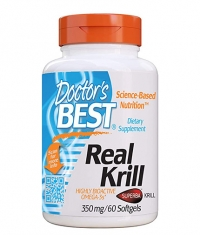 DOCTOR'S BEST Real Krill 350mg / 60 Caps