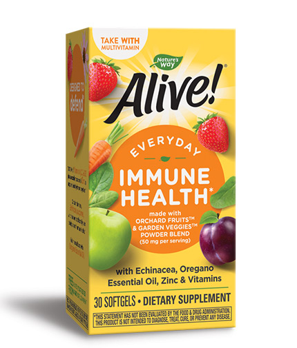 natures-way Alive! Everyday Immune Health / 30 Softgels