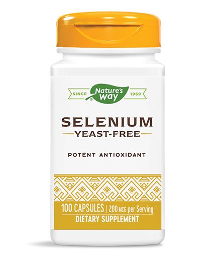 natures-way Selenium 200mcg / 100 Caps