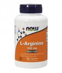 NOW L-Arginine 500mg. / 250 Caps.