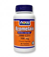NOW Bromelain 2400 GDU / 360mg. / 90 Tabs.