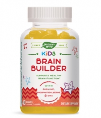 NATURES WAY Kids Brain Builder / 40 Gummies