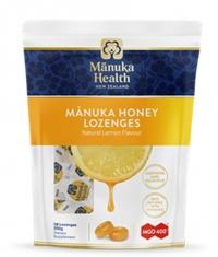 MANUKA HEALTH MGO™400+ Manuka Honey Lozenges with Lemon/ 58 Lozenges