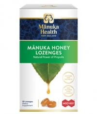 MANUKA HEALTH MGO™400+ Manuka Honey Lozenges with Propolis / 15 Lozenges