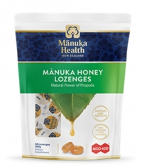 MANUKA HEALTH MGO™400+ Manuka Honey Lozenges with Propolis / 58 Lozenges