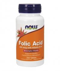 NOW Folic Acid  + B-12  250 tabs