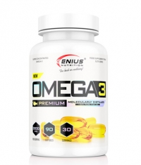 GENIUS NUTRITION OMEGA-3 / 90 Softgels
