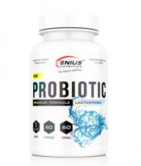 GENIUS NUTRITION PROBIOTIC / 60 Caps
