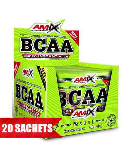 AMIX BCAA Micro-Instant Juice Sachets / 20pieces