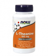 NOW L-Theanine 100mg. / 90 VCaps.