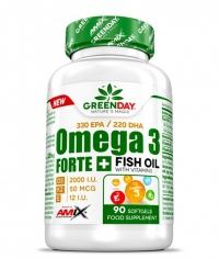 AMIX Omega 3 Forte+ / 90 Caps