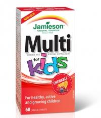 JAMIESON Multivitamins for Kids / 60 Chewable Tabs