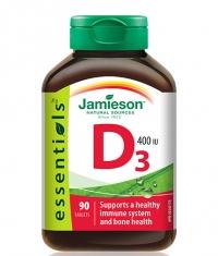 JAMIESON Vitamin D-3 400 IU / 90 Tabs