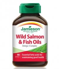 JAMIESON Wild Salmon & Fish Oils / 90 Softgels
