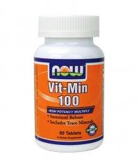 NOW Vit-Min 100 Multiple  60 Tabs.