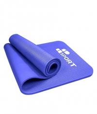 MP SPORT NBR Fitness Yoga Mat / 180sm х 60sm х 1sm / Blue
