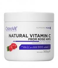 OSTROVIT PHARMA Natural Vitamin C Powder / from Rose Hips / Powder