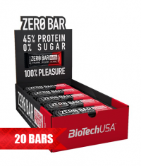 BIOTECH USA Zero Bar / 20x50g.