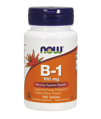 now Vitamin B-1 100mg. / 100 Tabs.