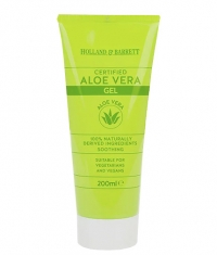 HOLLAND AND BARRETT Aloe Vera Gel / Certified / 200 ml