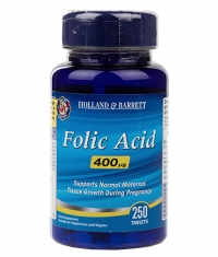 HOLLAND AND BARRETT Folic Acid 400 mcg / 250 Tabs