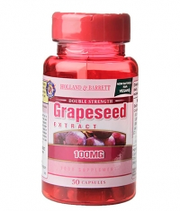 HOLLAND AND BARRETT Grapeseed Extract 100 mg / Double Strength / 50 Caps