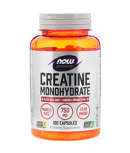 now Creatine Monohydrate 1500mg. / 100 Tabs.