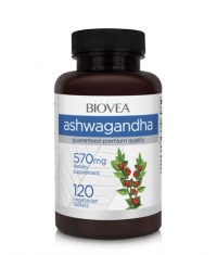 BIOVEA Ashwagandha 572 mg / 120 Tabs