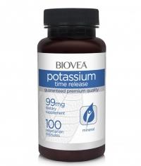 BIOVEA Potassium Time Release / 100 Caps