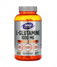 NOW L-Glutamine 1000 mg / 240 Vcaps