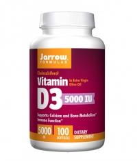 Jarrow Formulas Vitamin D3 5000 IU / 100 Softgels