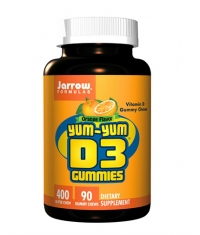 Jarrow Formulas Yum-Yum D3 Gummies 10 mcg / 90 Gummies