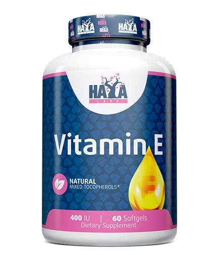haya-labs Vitamin E Mixed 400 IU / 60 Softgels
