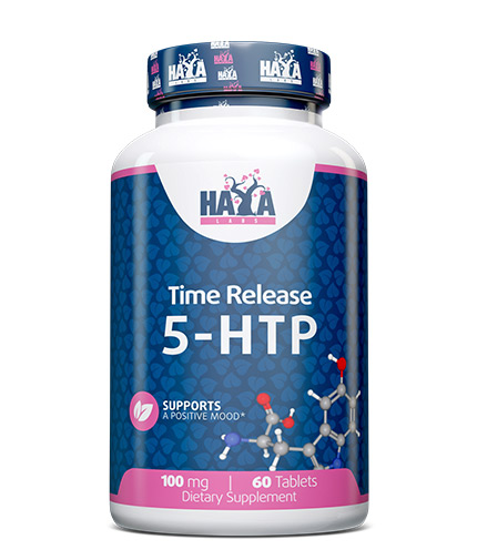 haya-labs 5-HTP Time Release 100 mg. / 60 Tabs