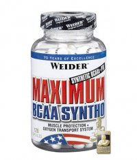 WEIDER Maximum BCAA Syntho 120 Caps.