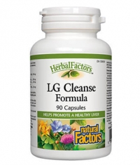 NATURAL FACTORS LG CLEANSE X 90 Caps.