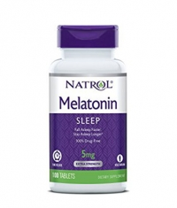 NATROL Melatonin Time Release 5mg. / 100 Tabs.