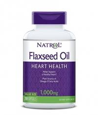 NATROL Omega 3 Flaxseed Oil 1000mg. / 200 Softgels