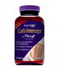 NATROL Carb Intercept Phase 2 + Chromium 120 Caps.