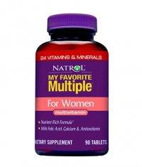 NATROL My Favorite Multiple ® for Women 90 Caps.