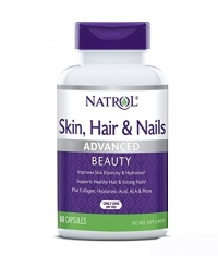 NATROL Skin Hair Nails 60 Caps.